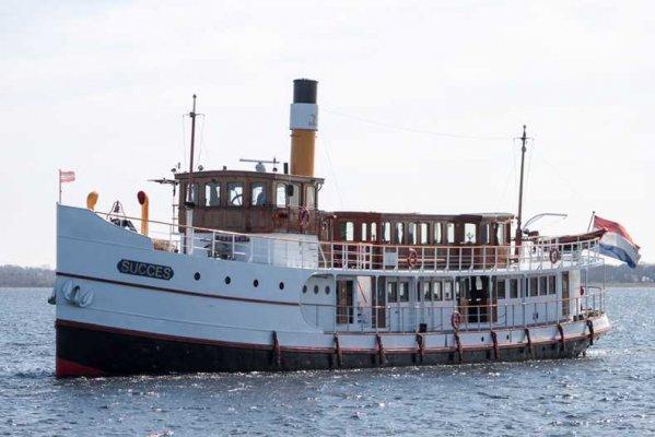 Vintage Passenger Steamship